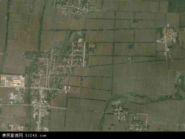 中国山东省滨州市邹平县焦桥镇地图(卫星地图)