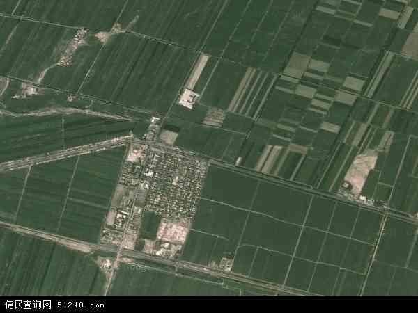 维吾尔自治区塔城地区沙湾县金沟河镇地图(卫星地图)