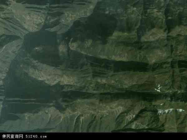 中国重庆市巫溪县兰英乡地图(卫星地图)