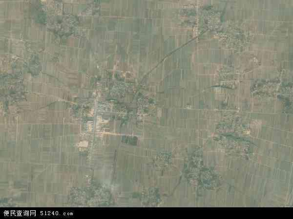 中国河北省衡水市景县梁集乡地图(卫星地图)