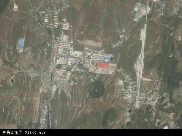 中国辽宁省大连市瓦房店市老虎屯镇地图(卫星地图)