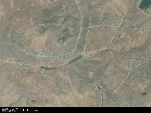 中国山东省泰安市新泰市龙廷镇地图(卫星地图)