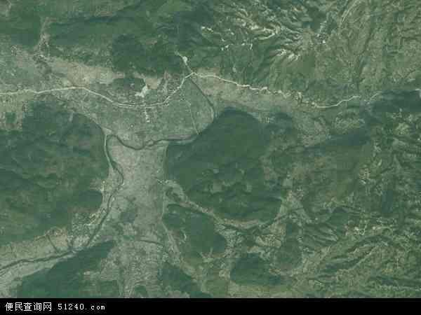 省黔东南苗族侗族自治州从江县洛香镇地图(卫星地图)