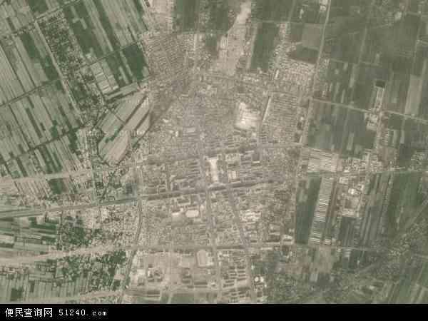 中国新疆维吾尔自治区喀什地区麦盖提县麦盖提镇地图(卫星地图)