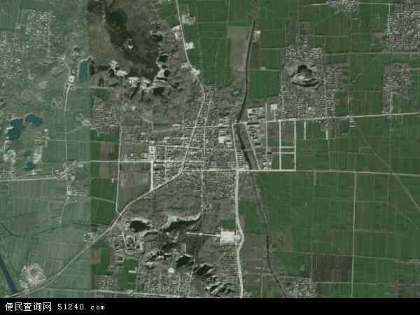 芒山镇卫星地图 - 芒山镇高清卫星地图 - 芒山镇高清航拍地图 - 2016