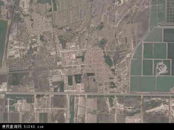 中国山东省滨州市无棣县马山子镇地图(卫星地图)