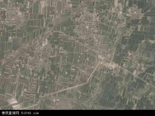 中国山西省临汾市翼城县南唐乡地图 卫星地图