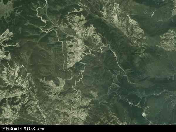 中国四川省凉山彝族自治州金阳县热柯觉乡地图