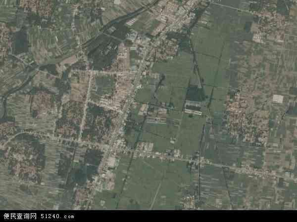 中国山东省临沂市沂南县苏村镇地图(卫星地图)