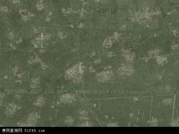 中国山东省菏泽市郓城县水堡乡地图(卫星地图)