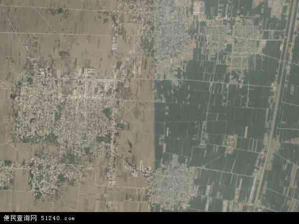 双塔镇高清卫星航拍地图