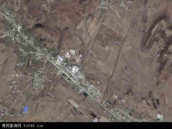 中国辽宁省大连市瓦房店市驼山乡地图(卫星地图)