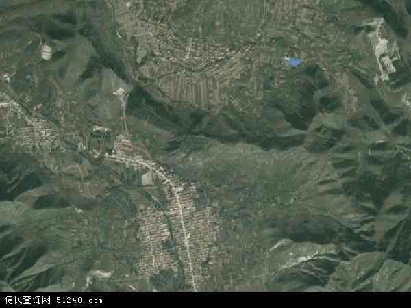 中国河北省唐山市遵化市铁厂镇地图(卫星地图)