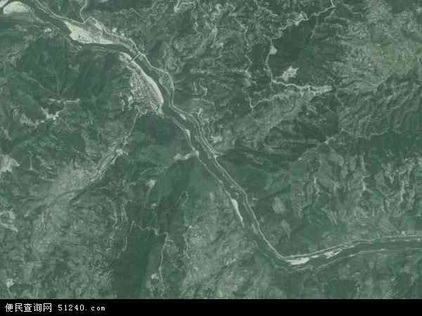 省黔东南苗族侗族自治州从江县停洞镇地图(卫星地图)