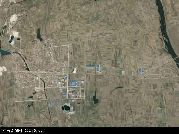 中国山东省烟台市莱阳市团旺镇地图(卫星地图)