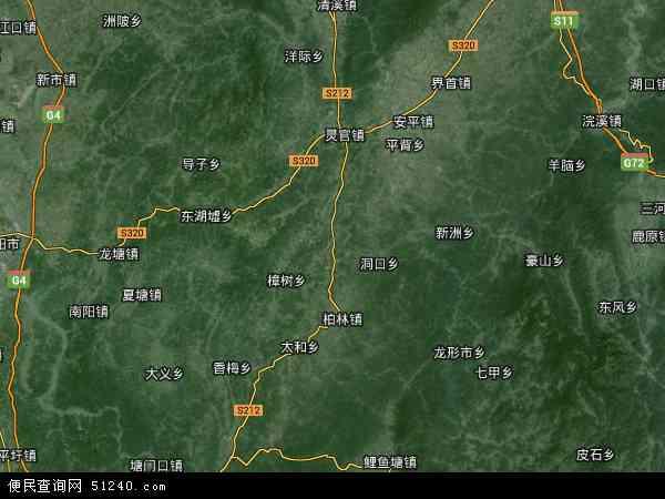 中国湖南省郴州市永兴县太和镇地图(卫星地图)图片