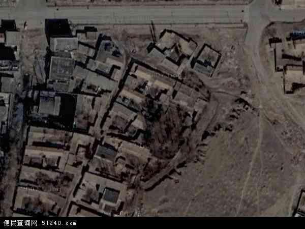 维吾尔自治区塔城地区托里县托里镇地图(卫星地图)