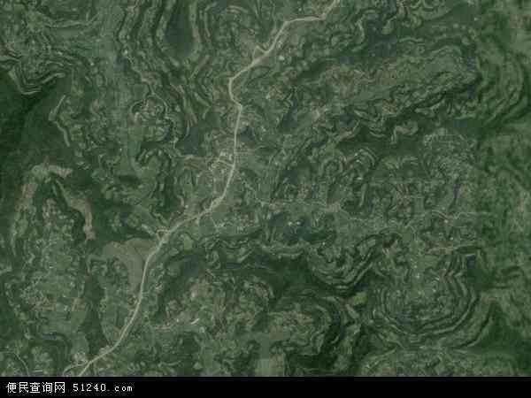 文兴乡卫星地图 - 文兴乡高清卫星地图