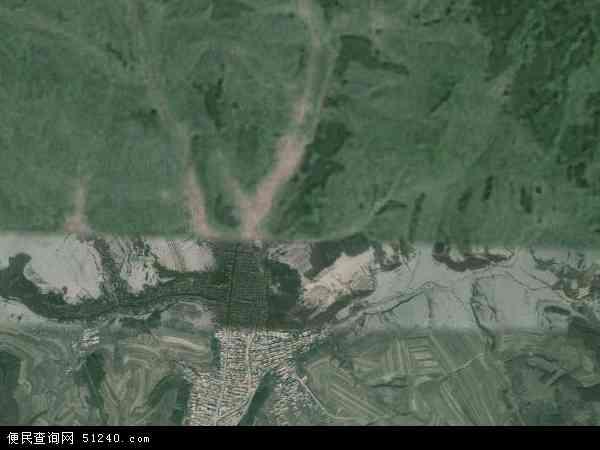 中国吉林省白山市抚松县万良镇地图(卫星地图)