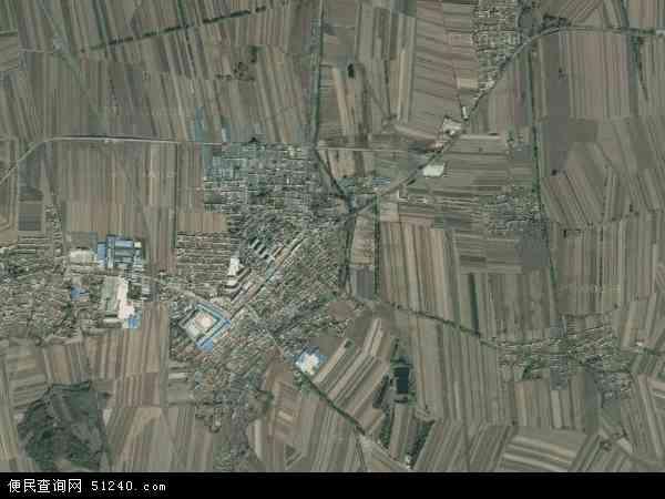 中国吉林省长春市榆树市新立镇地图(卫星地图)