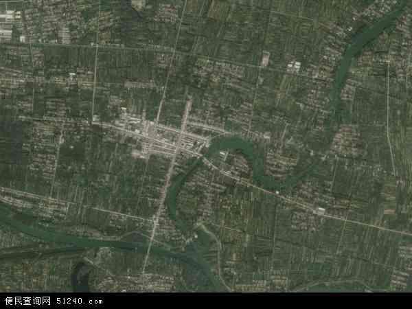 中国江苏省宿迁市沭阳县新河镇地图(卫星地图)