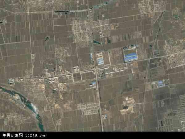卫星地图 中国山东省威海市文登市小观镇地图图片