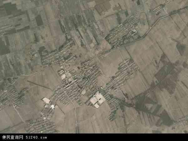 中国吉林省四平市梨树县小宽镇地图(卫星地图)