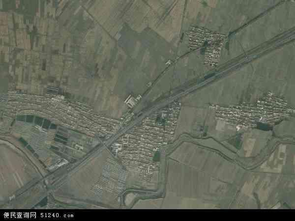 中国辽宁省辽阳市灯塔市西马峰镇地图(卫星地图)