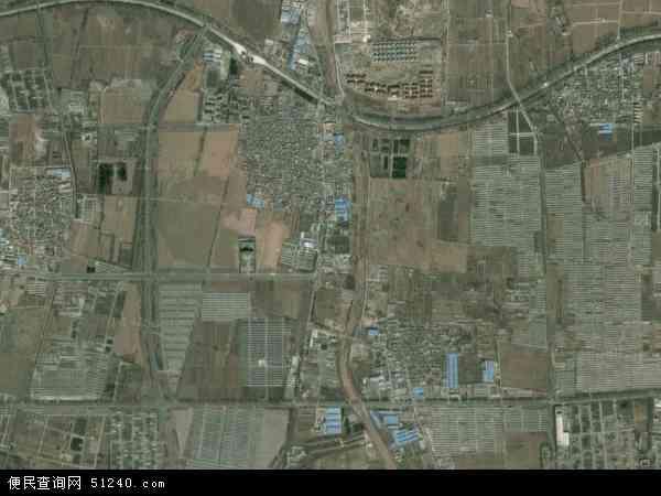 中国北京市昌平区兴寿镇地图(卫星地图)