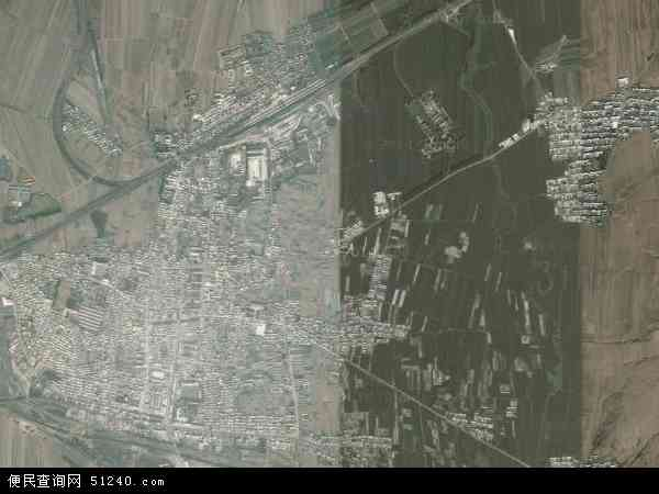 中国辽宁省锦州市黑山县新立屯镇地图(卫星地图)