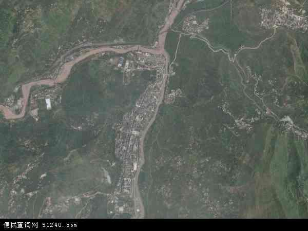 甘洛县新市坝镇地图