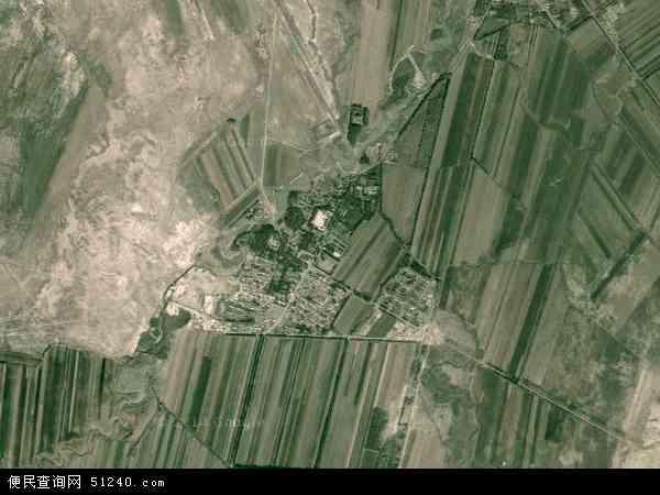 中国新疆维吾尔自治区塔城地区塔城市也门勒乡地图