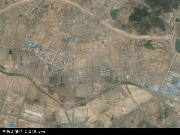 羊亭镇2017年卫星地图 中国山东省威海市环翠区羊亭镇地图