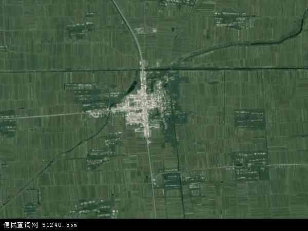 中国安徽省宿州市灵璧县杨疃镇地图(卫星地图)