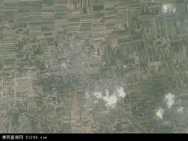 阳王镇2016年卫星地图 中国山西省运城市新绛县阳王镇地图图片