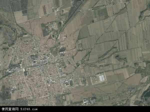 中国北京市延庆县永宁镇地图(卫星地图)