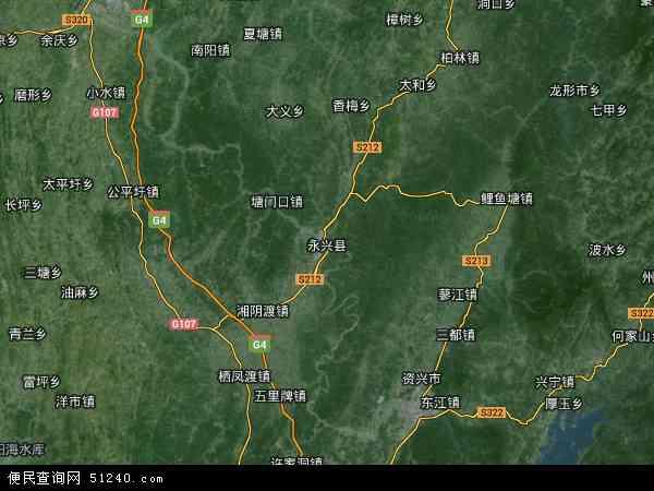 永兴县地图 永兴县卫星地图 永兴县高清航拍地图 永兴县高清卫星地图 高清图片