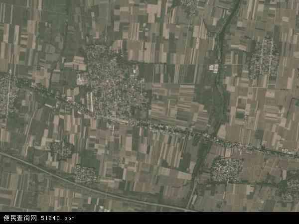 中国河北省邢台市威县枣园乡地图(卫星地图)