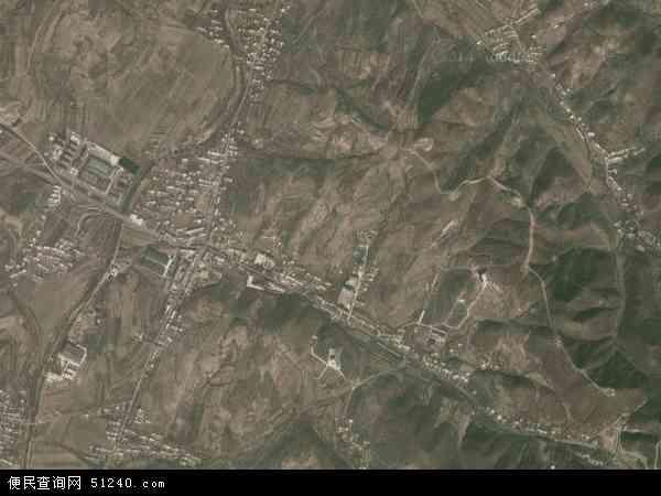 中国辽宁省大连市瓦房店市赵屯乡地图(卫星地图)
