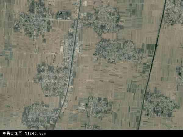 中国河北省邢台市威县章台镇地图(卫星地图)