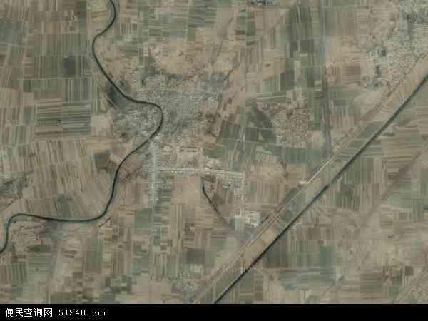 中国河北省衡水市武邑县赵桥镇地图(卫星地图)