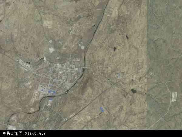 中至镇高清卫星地图