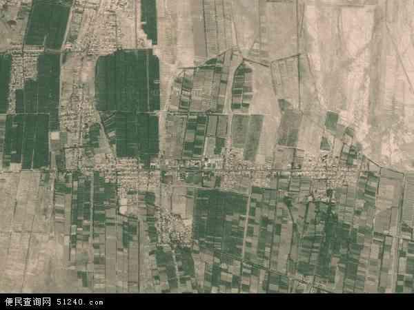 中国新疆维吾尔自治区吐鲁番地区吐鲁番市艾丁湖乡地图(卫星地图)