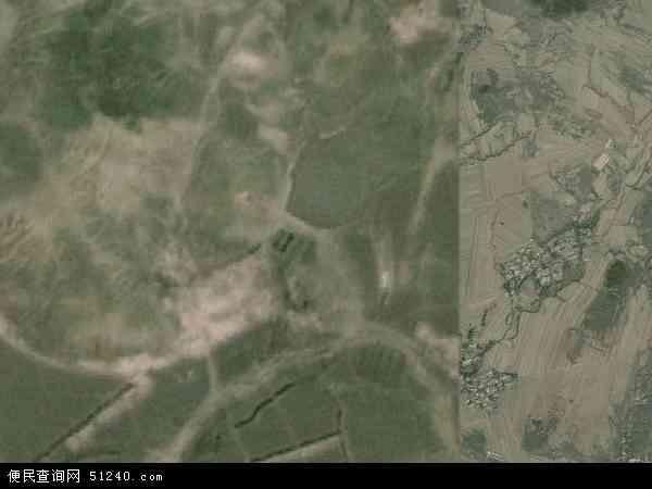 中国辽宁省朝阳市北票市巴图营乡地图(卫星地图)