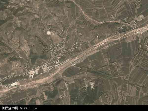 中国辽宁省朝阳市北票市北四家乡地图(卫星地图)