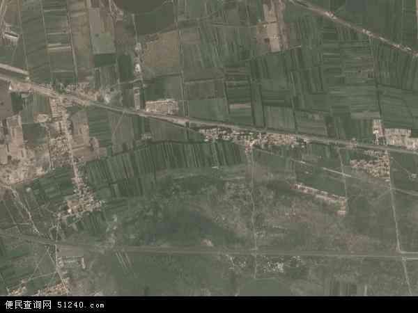 巴音塔拉镇高清卫星地图