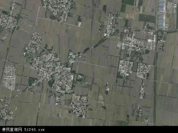 中国河南省新乡市辉县市北云门镇地图(卫星地图)