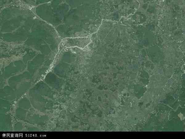 中国贵州省铜仁市石阡县本庄镇地图(卫星地图)