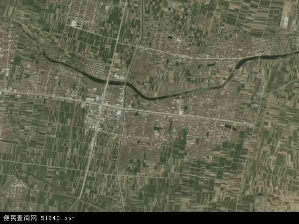 白旄镇地图 - 白旄镇卫星地图
