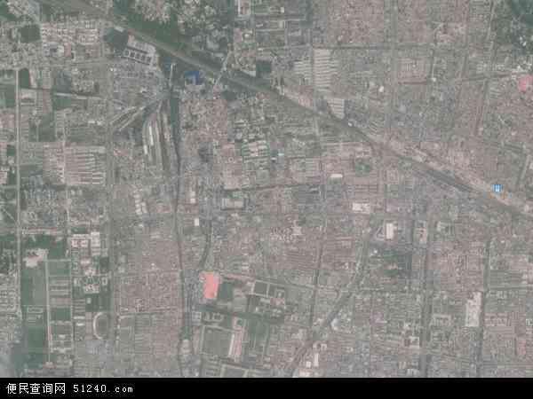 中国河南省商丘市梁园区长征地图(卫星地图)图片
